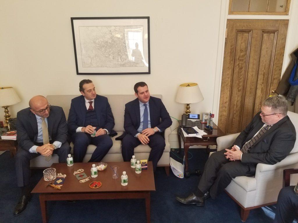 ეკონომიკის მინისტრის მოადგილე გენადი არველაძე საქართველო-აშშ-ის სავაჭრო-ეკონომიკური ურთიერთობების საკითხებზე აშშ-ში შეხვედრებს მართავს