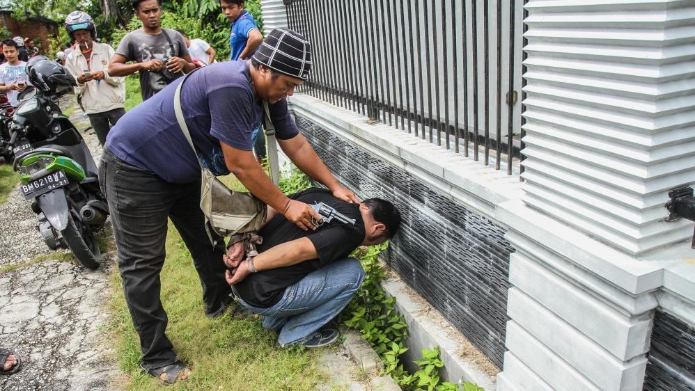 ინდონეზიის ციხიდან 113 პატიმარი გაიქცა
