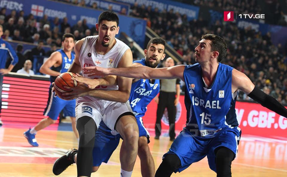 Грузия 71-69 Израиль | Матч завершился победой Грузии