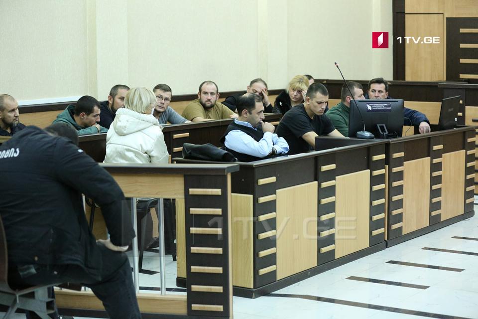 თბილისში სპეცოპერაციისას დაკავებულებს აღკვეთის ღონისძიებად პატიმრობა შეეფარდათ