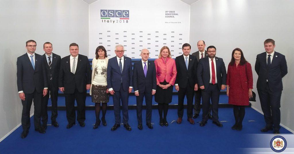 В ОБСЕ прошла встреча стран-друзей Грузии