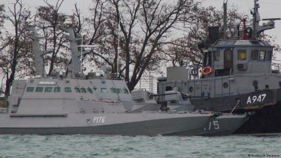რუსეთი უკრაინელ მეზღვაურებს ტყვეებად არ აღიარებს