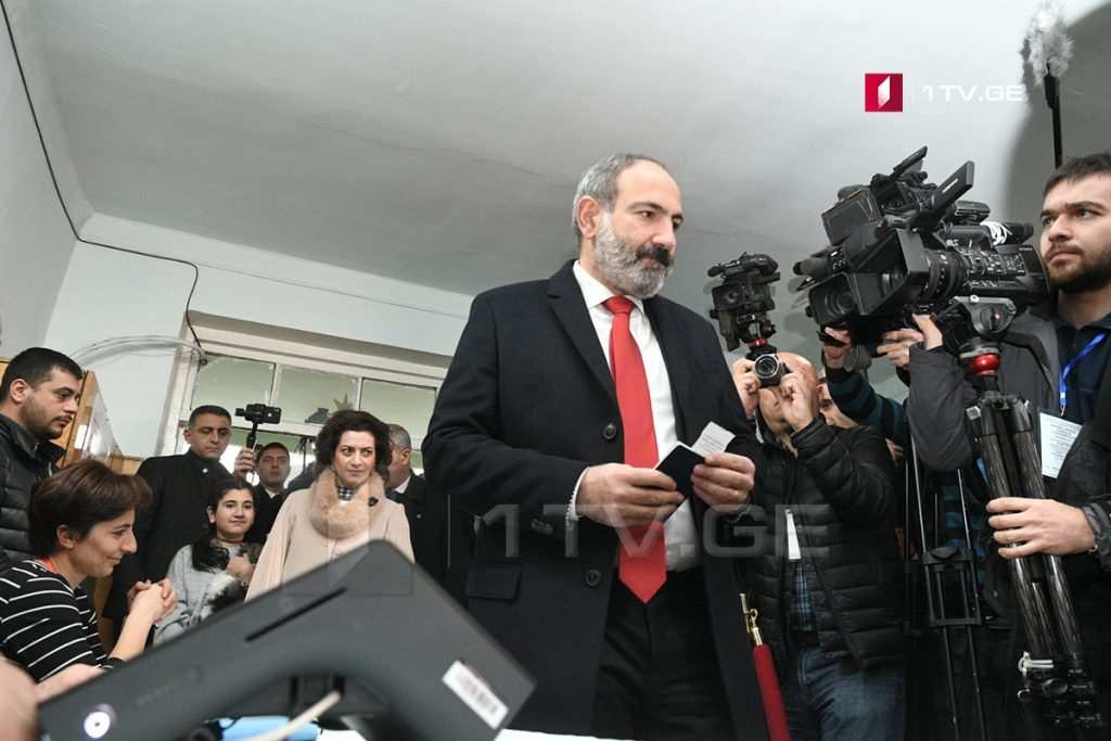 Nikol Pashinyan's bloc wins the early parliamentary elections in Armenia