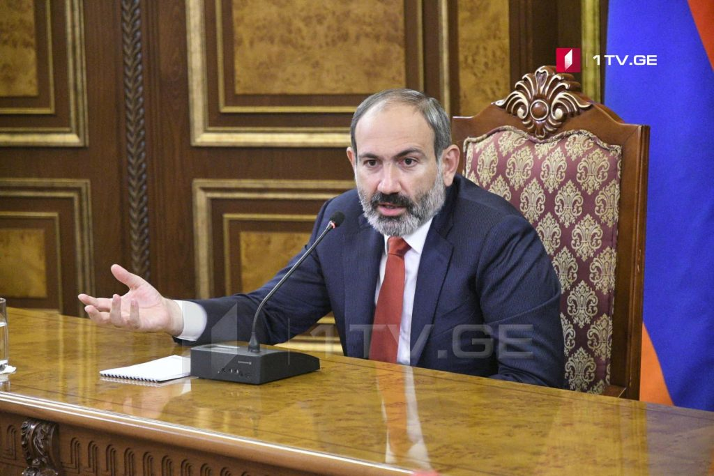Nikol Pashinyan denies Putin demanded that Armenian government did not allow Saakashvili to enter Armenia