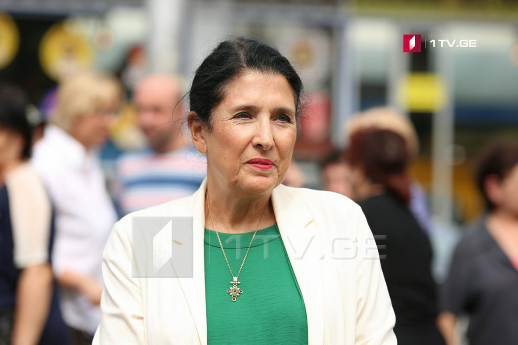 После выборов Саломе Зурабишвили пожертвовали 265 тысяч лари