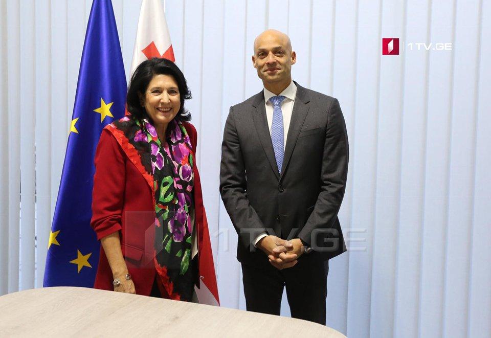 Саломе Зурабишвили совершит свой первый визит в ранге президента в Брюссель