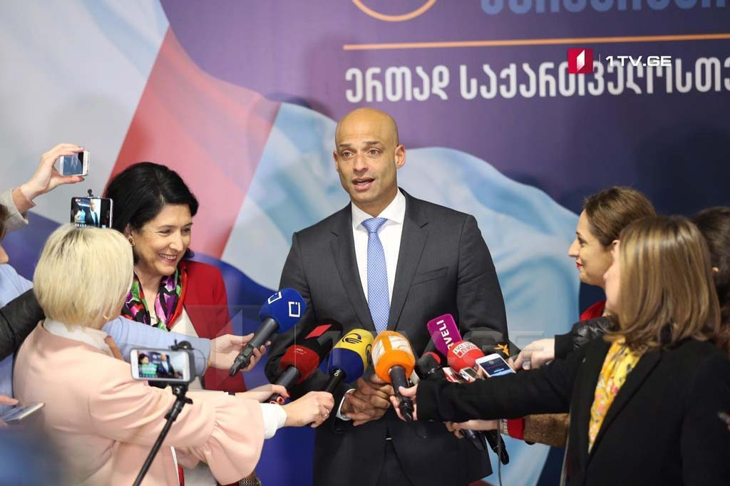 Джеймс Аппатурай - Я очень доволен встречей с Саломе Зурабишвили и я вернусь в Брюссель с её посылами