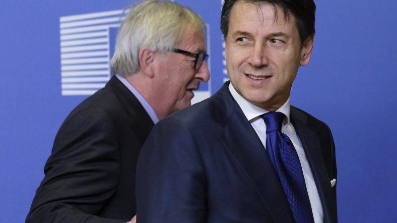 იტალია თანახმაა, 2019 წლის ბიუჯეტში ცვლილებები შეიტანოს