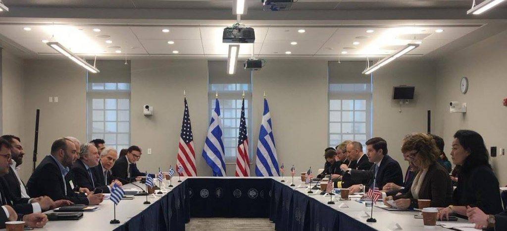 Состоялась первая встреча по вопросу стратегического сотрудничества между США и Грецией
