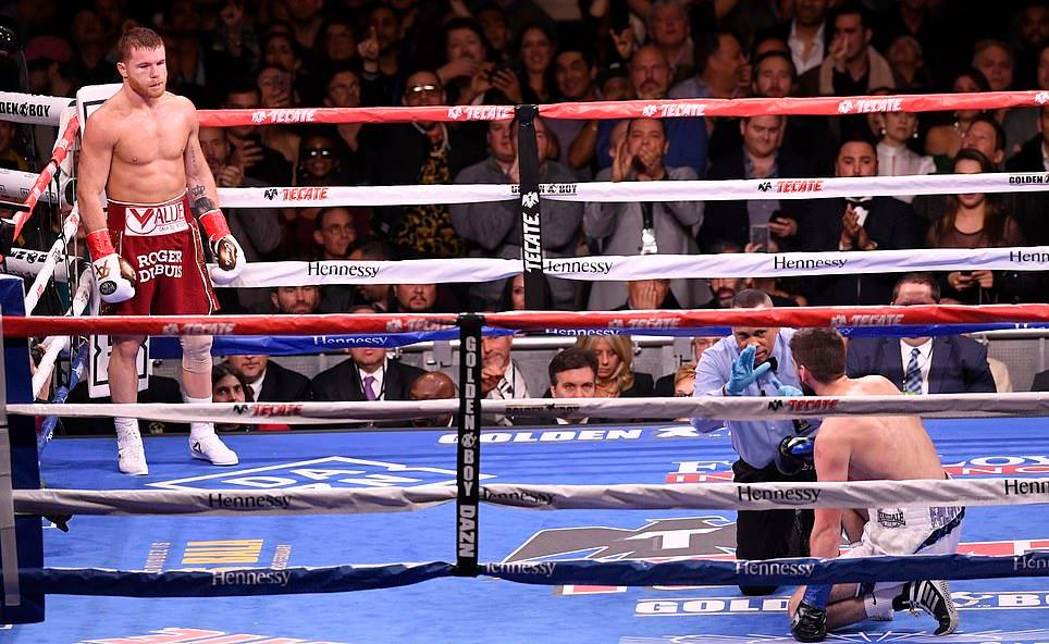 საულ ალვარესმა ნოკაუტით მოუგო ფილდინგს და WBA-ის ტიტული მოიპოვა (ვიდეო)