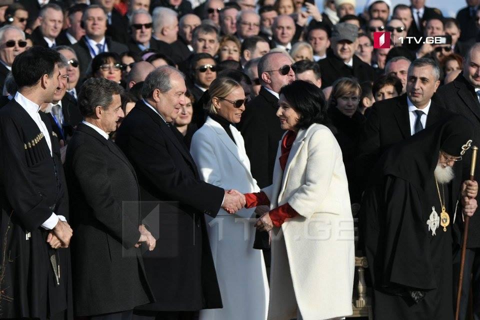 Շնորհավորում եմ Վրաստանին, նոր նախագահը կին է, ով ունի քաղաքական և դիվանագիտական մեծ փորձ. Արմեն Սարգսյան