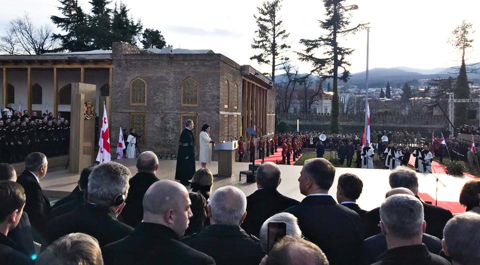 Շվեդիայի թագավորը Սալոմե Զուրաբիշվիլիին շնորհավորել է Վրաստանի նախագահ դառնալու առթիվ