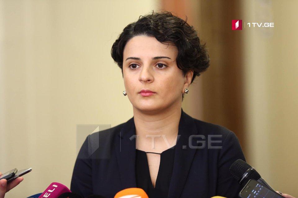 Նաթիա Մեզվրիշվիլին նշանակվել է վարչապետի ապարատի ղեկավար