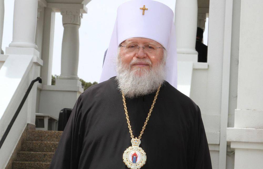 საზღვარგარეთ რუსეთის მართლმადიდებელი ეკლესიის წინამძღვარი აცხადებს, რომ მსოფლიო პატრიარქის გადაწყვეტილებამ შესაძლოა, უკრაინაში სისხლისღვრა გამოიწვიოს