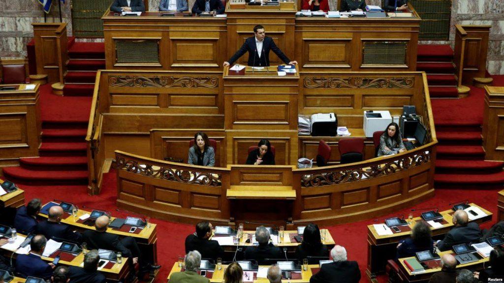 საბერძნეთის პარლამენტმა 2019 წლის ბიუჯეტი საპროტესტო აქციების ფონზე მიიღო