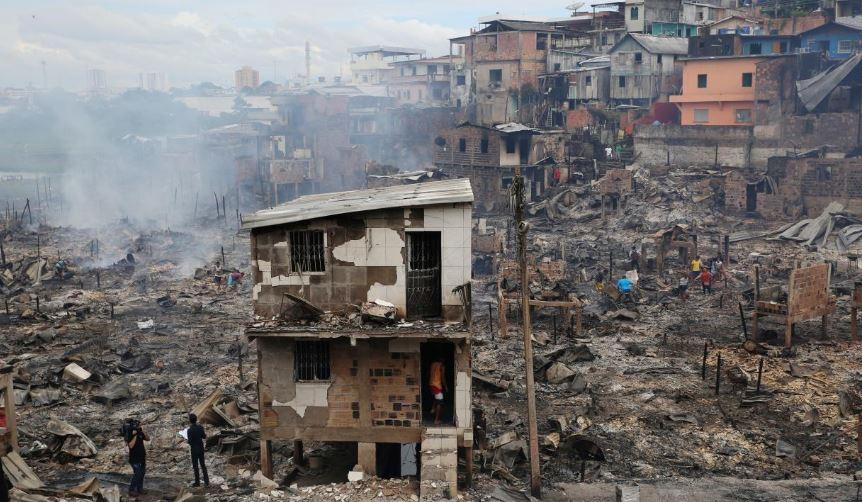 Բրազիլիայում հրդեհի հետևանքով այրվել է 600 տուն