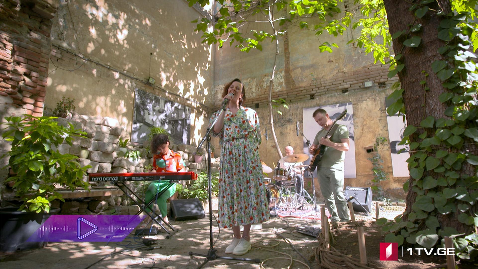 #აკუსტიკა ირინა ბაირამაშვილი & Old Fashioned Band - შენთან