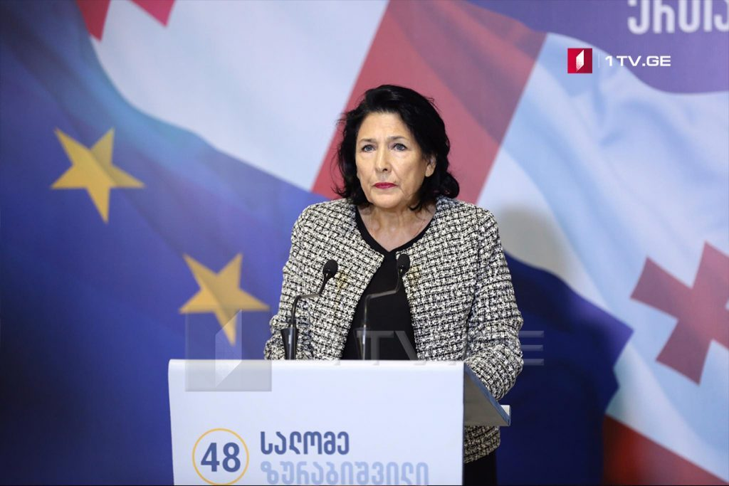 Salome Zurabishvili presented candidates for the post of CEC Chairperson