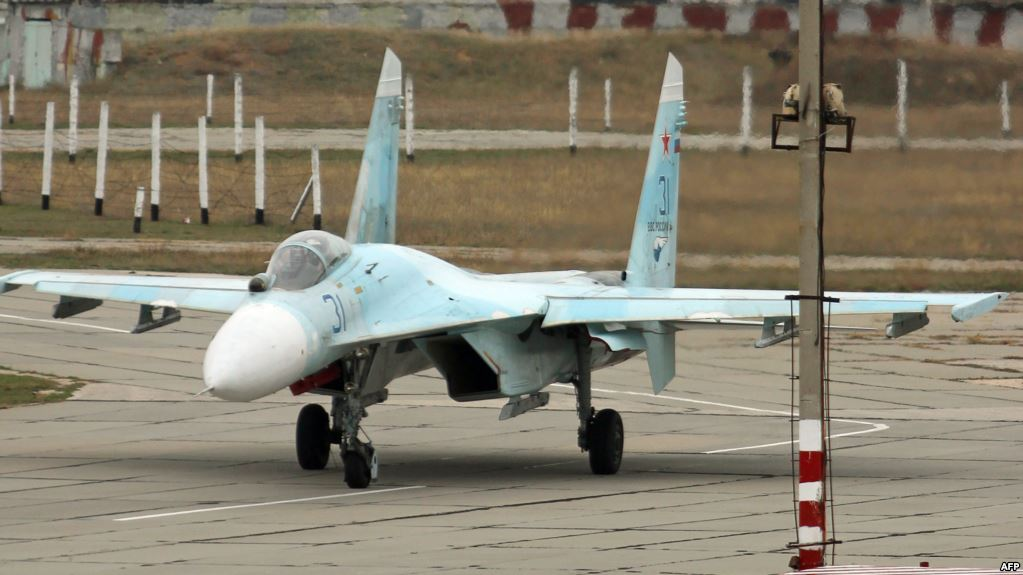 Reuters - რუსეთმა ანექსირებულ ყირიმში ათზე მეტი ავიაგამანადგურებელი გაგზავნა
