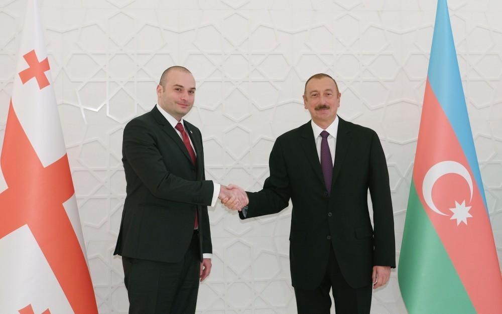 Мамука Бахтадзе поздравил Ильхама Алиева с днем рождения