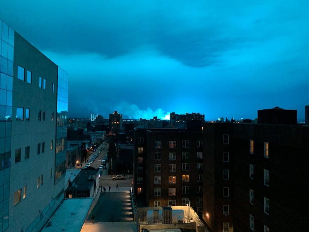 ნიუ-იორკის ერთ-ერთ ელექტროსადგურზე ძლიერი აფეთქება მოხდა