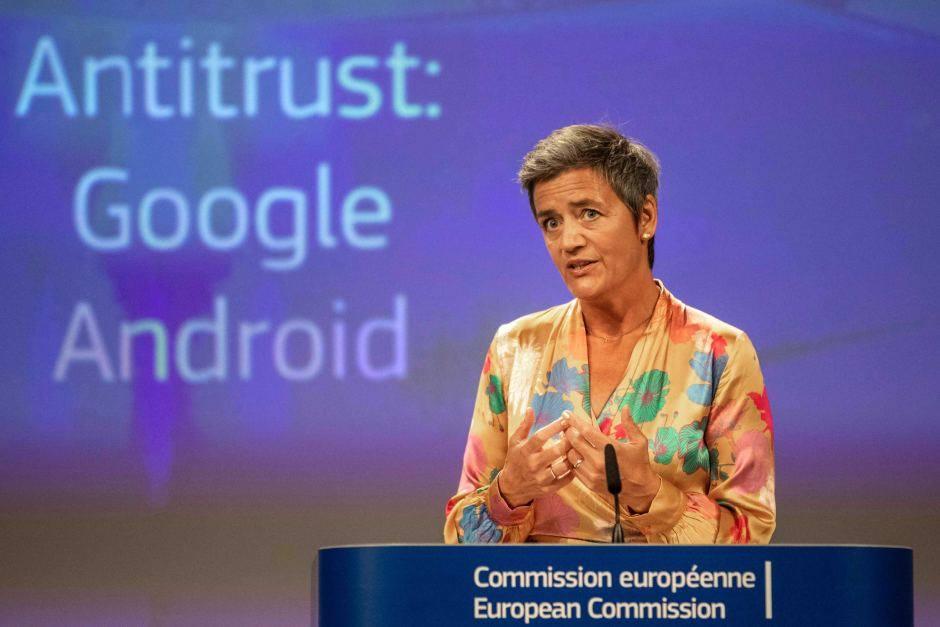 კონკურენციის საკითხებში ევროკომისარი - 2018 წელს ტექნოლოგიური კომპანიები უფრო მღვრიე და გაუმჭვირვალე გახდნენ