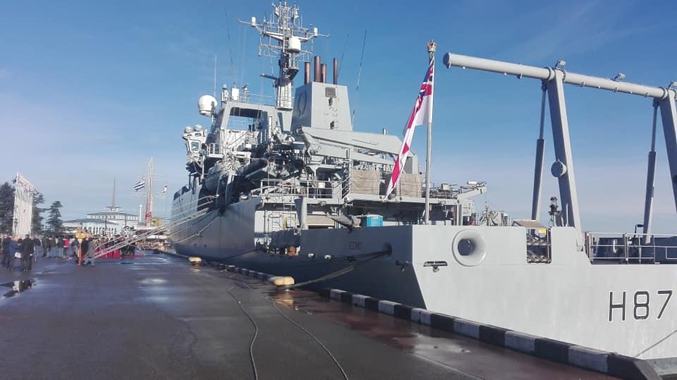Гидрографическое судно Королевского флота Великобритании пришвартовалось в Батумском порту
