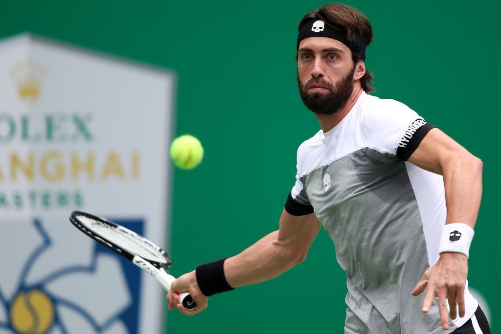 Nikoloz Basilashvili entered the world's top 20