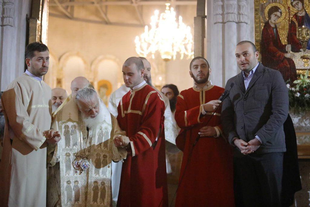 პრემიერ-მინისტრი მამუკა ბახტაძე ყველა მართლმადიდებელს შობის დღესასწაულს ულოცავს