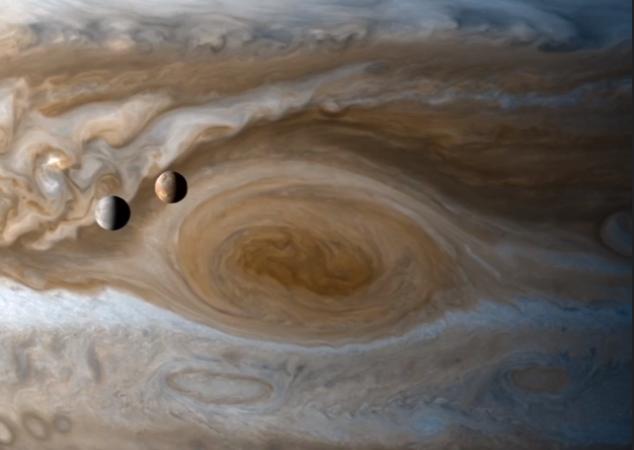 როგორ მოძრაობენ იუპიტერის მთვარეები დიდი წითელი ლაქის თავზე [ვიდეო]