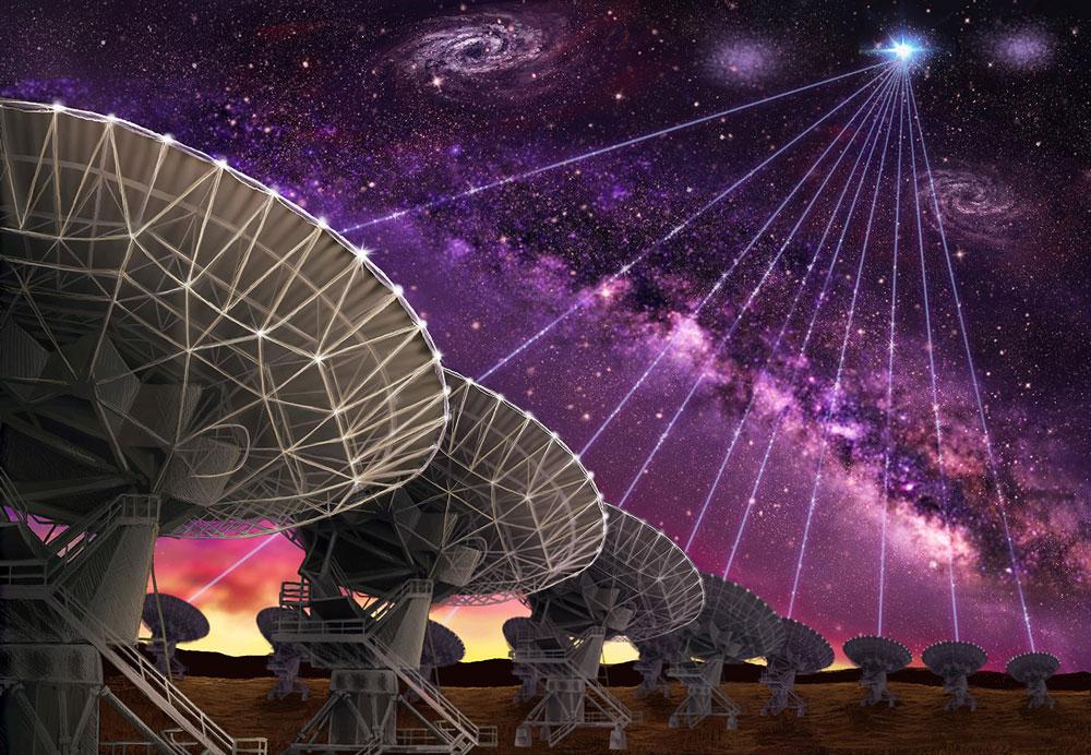 დაფიქსირებულია იდუმალი რადიოსიგნალები, რომლებიც 1,5 მლრდ სინათლის წლის მანძილზე მდებარე გალაქტიკიდან მოდის