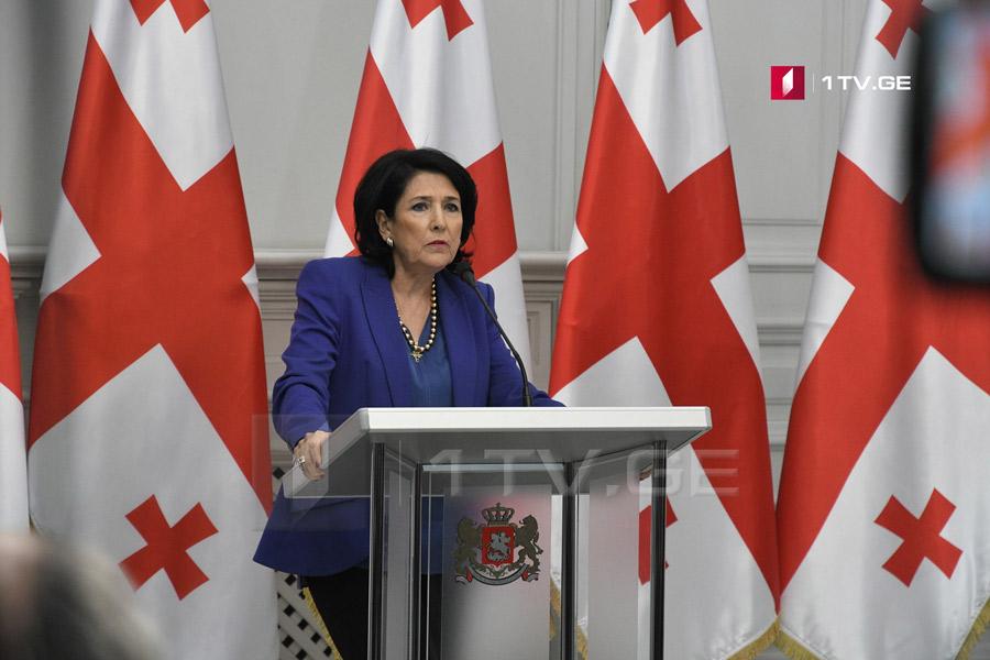 Саломе Зурабишвили - Я не вижу причин, почему я должна отозвать Анну Долидзе из Совета юстиции