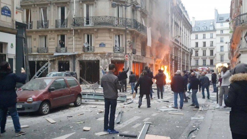 პარიზში აფეთქებისას გარდაცვლილთა რაოდენობა დაზუსტდა