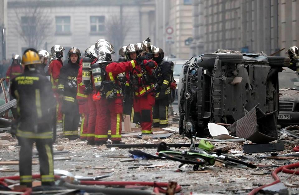 პარიზში აფეთქების შედეგად ოთხი პირი დაიღუპა