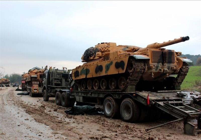 თურქეთის არმიამ სირიის იდლიბის რეგიონის სიახლოვეს სატანკო წვრთნები ჩაატარა