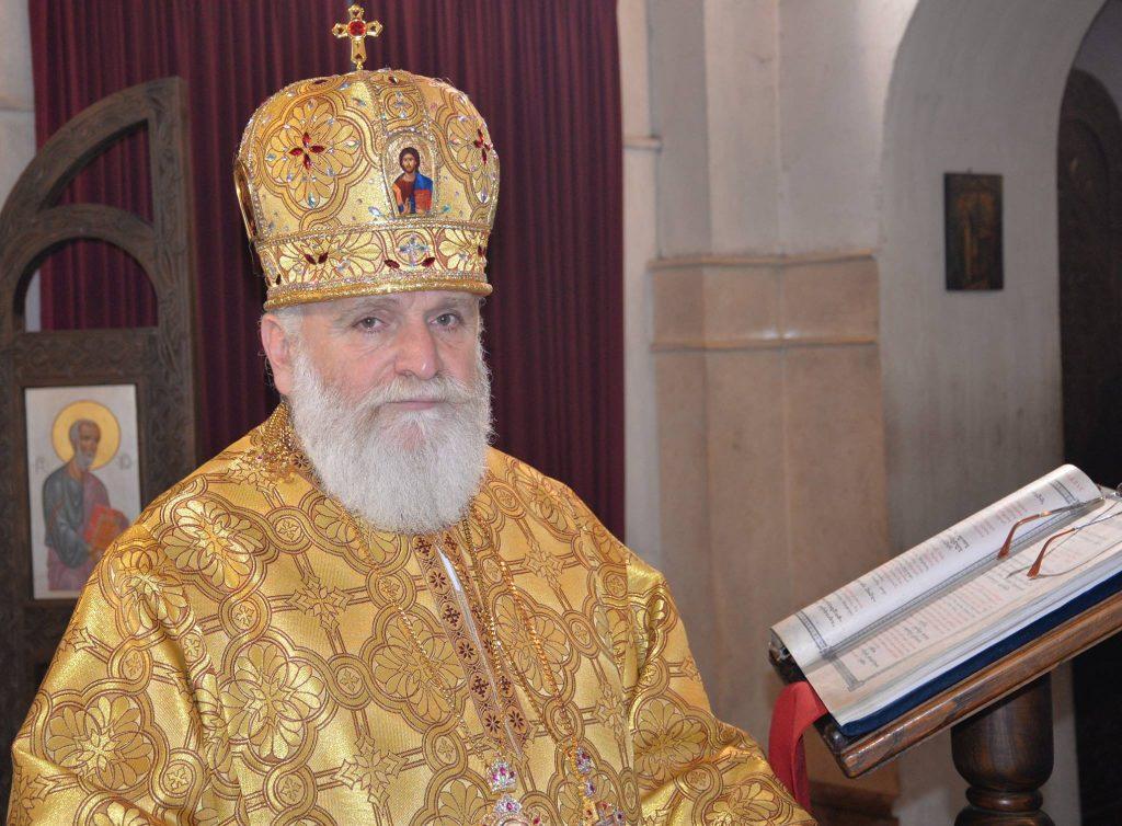 Shemokmedi Archbishop Ioseb congratulates Ukrainian Church on receiving tomos on autocephaly