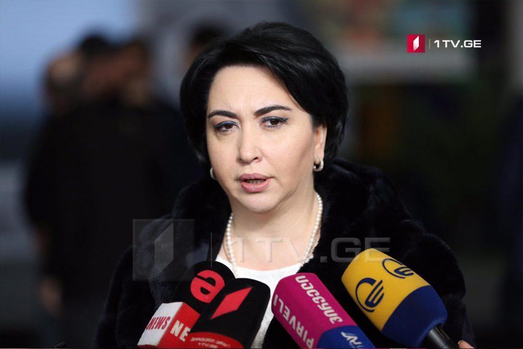 Эка Беселия советует Вано Зардиашвили воздержаться от разговора по текущим процессам