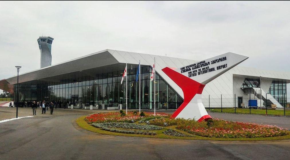 Kutaisi Aeroportu sərnişinlərin axınının artması ilə Avropada liderlərdən biridir
