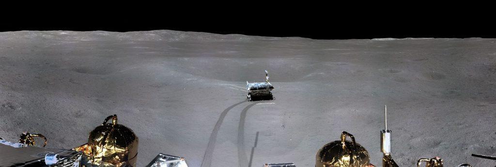 """კადრები, რომლებიც უნდა ნახოთ - ისტორიაში პირველი პანორამა მთვარის """"ბნელი მხარიდან"""""""