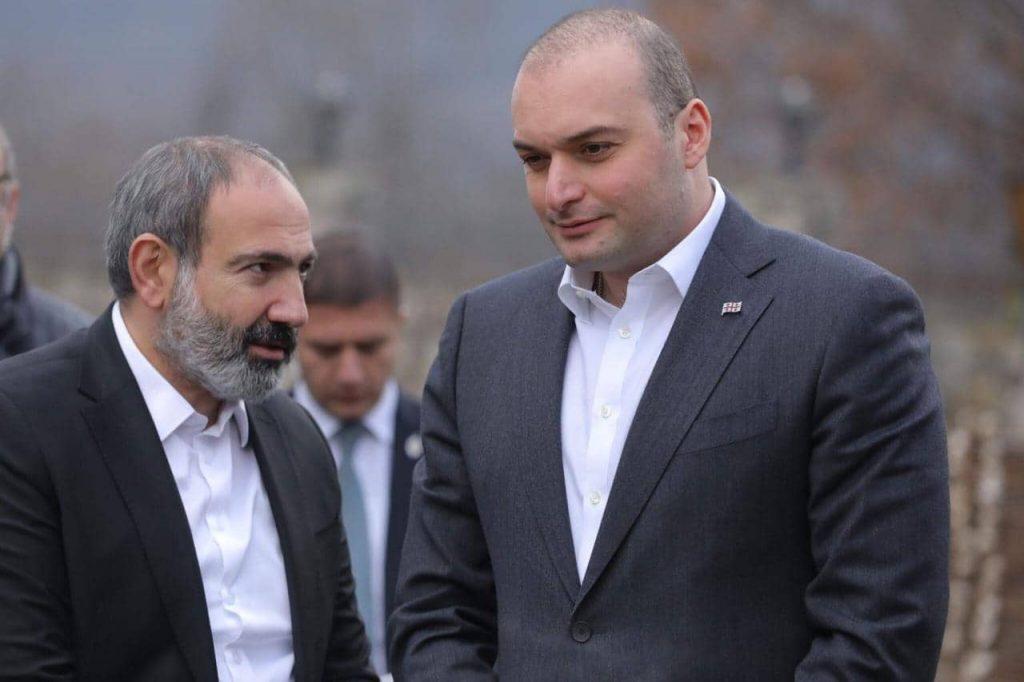 Между премьер - министрами Армении и Грузии состоялась неформальная встреча