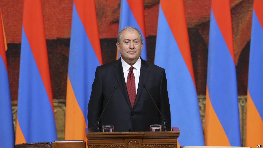 Armen Sarkisyan Salome Zurabişviliyə, Didi Diğomidə baş verən faciəyə görə başsağlığı verdi