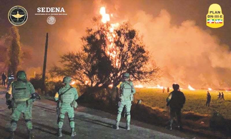 მექსიკაში ნავთობსადენზე მომხდარი აფეთქების შედეგად დაღუპულთა რიცხვი 85-მდე გაიზარდა