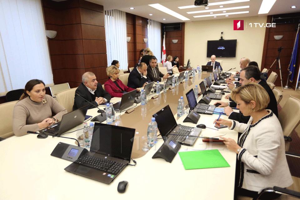В Высшем совете юстиции завершилось собеседование с Шалвой Тадумадзе