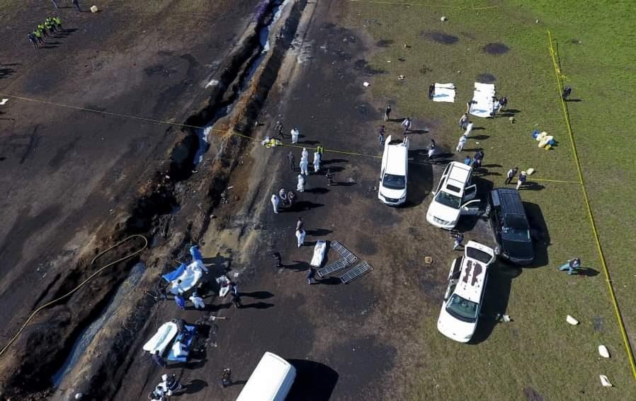 მექსიკაში ნავთობსადენზე აფეთქების შედეგად დაღუპულთა რიცხვი 91-მდე გაიზარდა