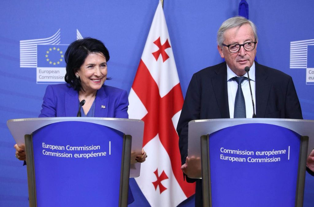 Jean-Claude Juncker - We are glad how Georgia handles visa-free regime related issues