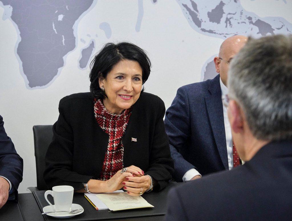 Salome Zurabishvili – I will tell all partners that Georgia is ready for integration into NATO