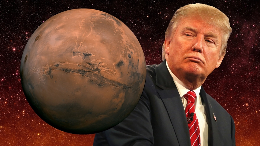 მედიის ცნობით, ტრამპმა NASA-ს მარსზე ადამიანთა სასწრაფოდ გაგზავნისთვის საჭირო ფული შესთავაზა