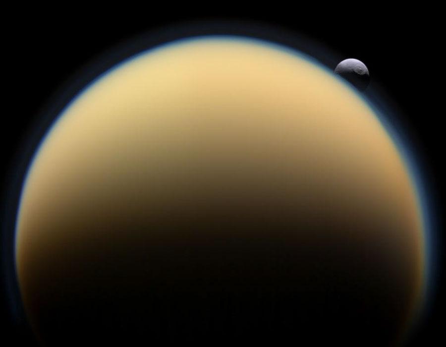 სატურნის მთვარე ტიტანის დაბურული ატმოსფეროს საიდუმლო ამოხსნილია