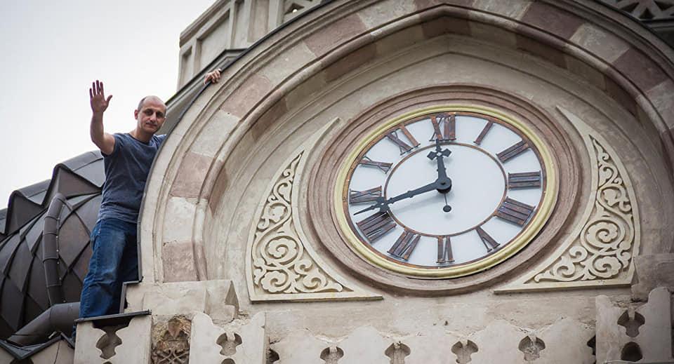 """პიკის საათი - """"პიკი ქალაქში"""" - ქალაქის მთავარი საათი"""