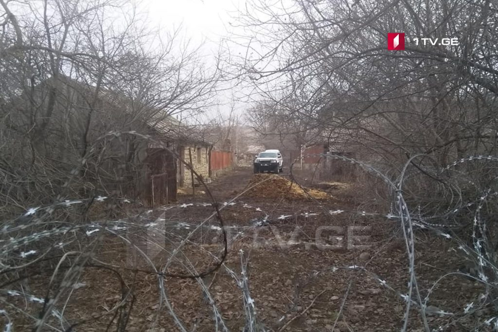 სოფელ ხურვალეთში რუსმა სამხედროებმა ე.წ. ახალი მავთულხლართები გააბეს